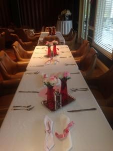 VD table setting